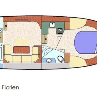 Florien Noblesse 38 XL  12.20 Meter
