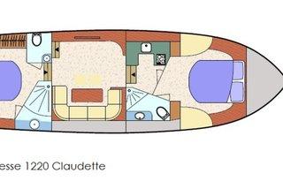 CLAUDETTE Noblesse 38 XL   12.20 Meter